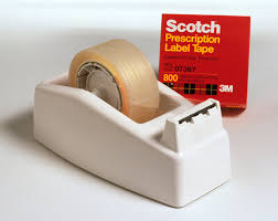 Scotch Rx Box By 3M/Tw/Cities Sales Item No.: 4461111 NDC No.: UPC No.: 021200073670 Item Description: Store Supplies & Miscellaneous Other Name: :Scotch Rx Box Therapeutic Code: Therapeutic Class: Ph