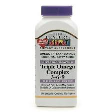 Triple Omega Complex Sgc 90 Count By 21st Century Vitamins