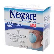 Nexcare Mask All Purpose 5Ct
