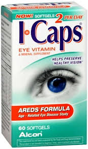 Icaps Areds Softgel 60Ct