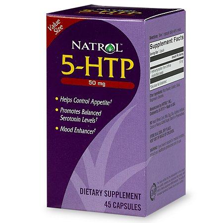 5-Htp 50 Mg Cap 45 By Natrol