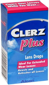 Clerz Plus Lens Drops .17 oz By Alcon