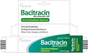 Bacitr Zinc Ointment 500Un/gm 30gm Act