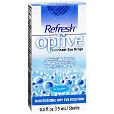 Refresh Optive Lubricant Eye Drops - 0.5 fl oz bottle