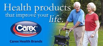 Cane Adj Dsnr Off Bl By Carex Health Brands