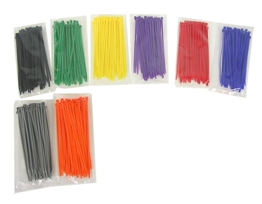 Colored Cable Ties (100 ea.)