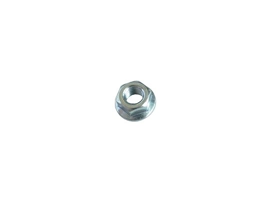 1/4 Flanged nut, smooth