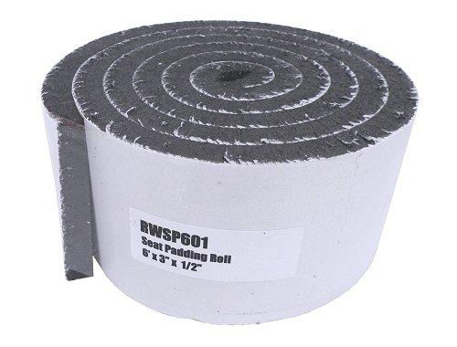 Adhesive Seat Padding 1/2 x 3 x 6 Ft.
