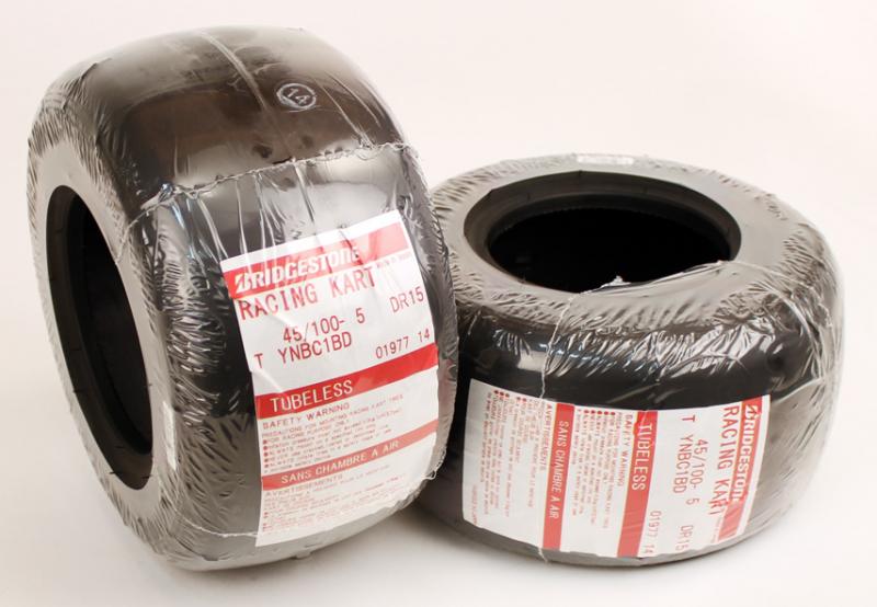 Bridgestone YNB 10.5 x 4.5 x 5 in. Slick Tire