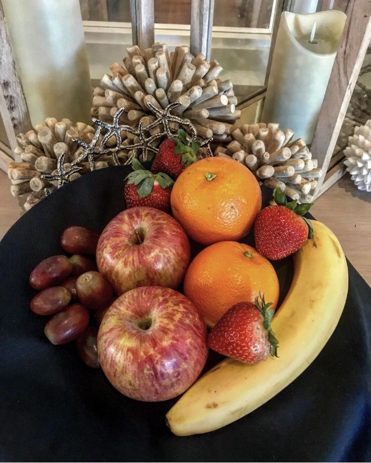 Sunset Fruit Basket