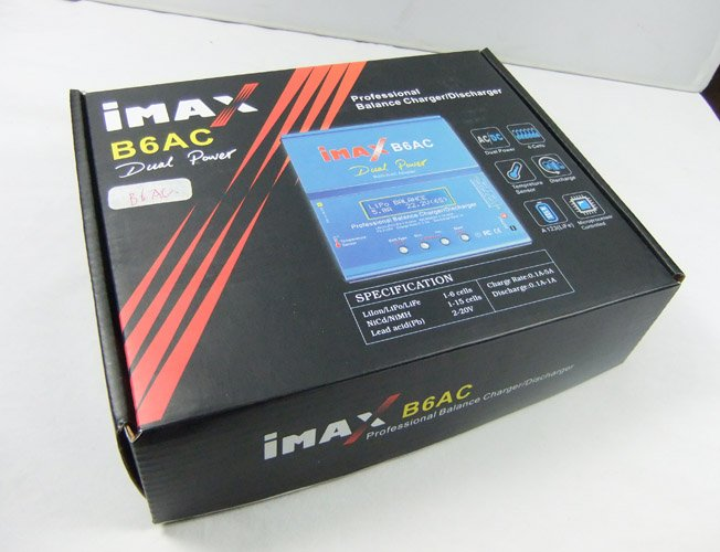 Image 0 of iMax B6AC Multifunctional Balance Charger /Built-in AC Adapter