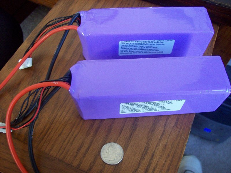 Image 0 of 5000mah 22.2volt 15c 6 cell lithium polymer