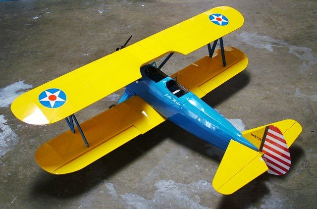 Image 0 of PT-17 Stearman EP 50