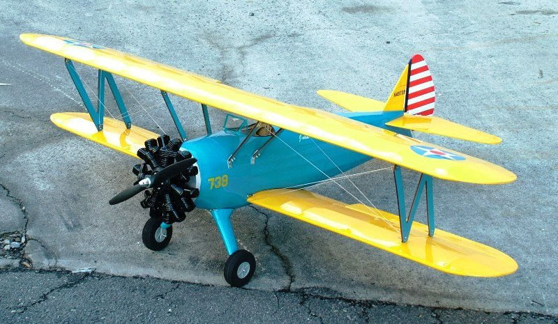 Image 1 of PT-17 Stearman EP 50