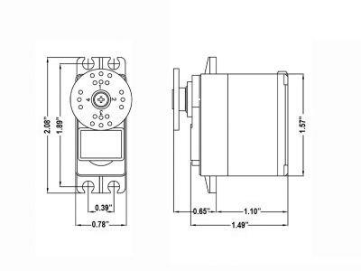 Image 3 of (6) HS-5485HB Standard Digital