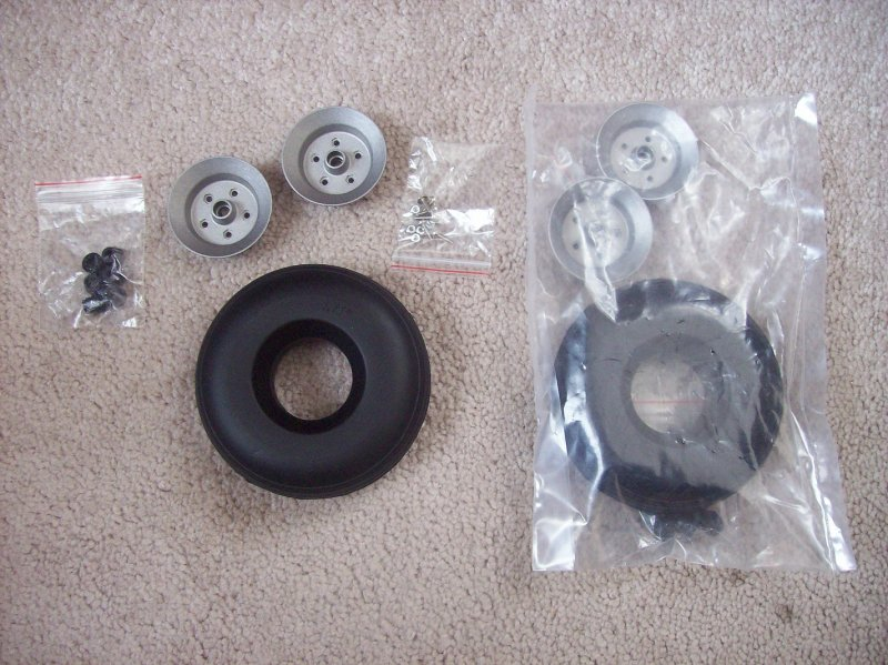 Image 2 of 3.75 inch wheels (set)