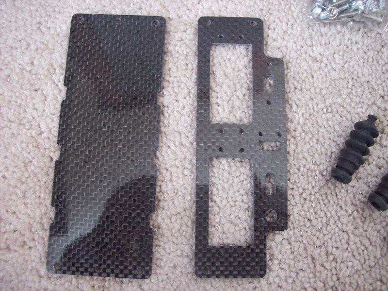 Image 0 of Carbon Fiber Servo Tray & Battery Tray