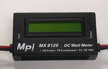 Image 0 of DC Watt Meter, 70 Amp
