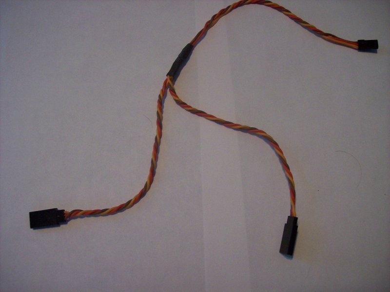 Image 0 of  Y-connectors Heavy duty twisted (universal JR/Futaba) 6