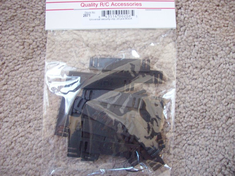 Image 0 of MPI Servo Safety Clips/connector (20) pack