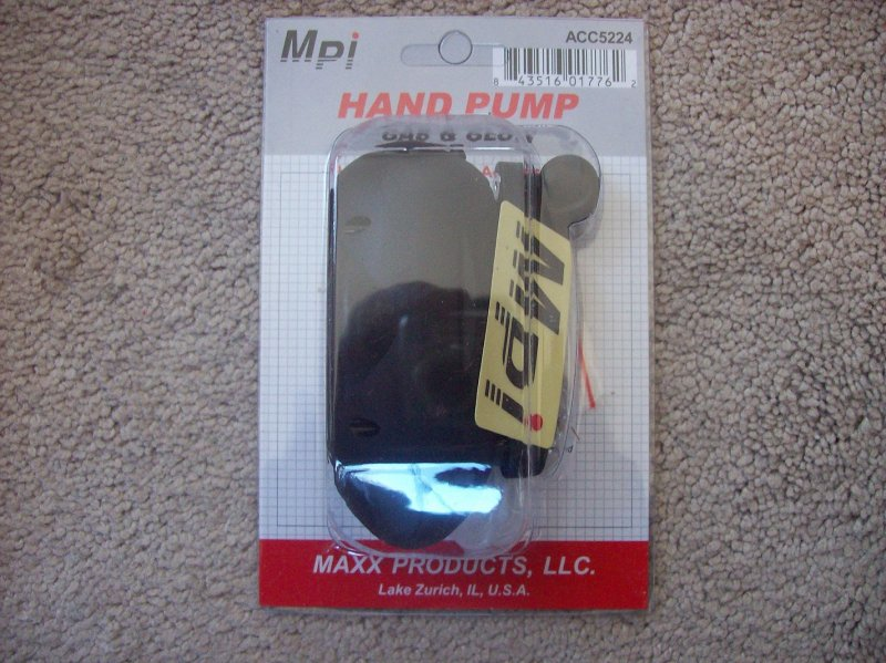 Image 0 of MPI Fuel Pump (hand crank) Gas or Glow