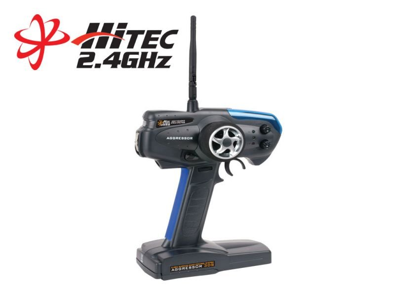 Image 0 of Aggressor 3DS 2.4 - 3 Channel Pistol Grip Radio System
