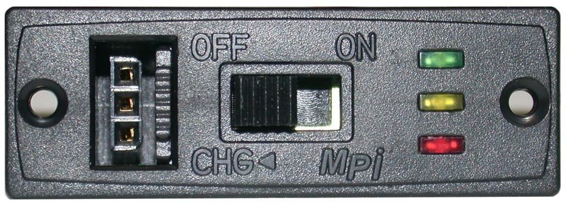 Image 0 of MPI SOFT MOUNT ONE-PIECE CHARGE SWITCH with LED VOLTAGE DISPLAY