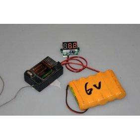 Image 1 of Super 1-8S Digital Voltage monitor for Receiver (3.7V-30V)