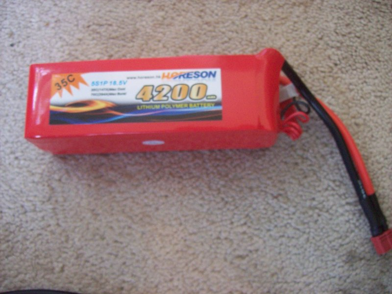 Image 1 of Horeson Li-polymer Batteries (made to order)