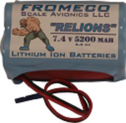 Image 0 of Relion 5200mah 7.4volt Ion