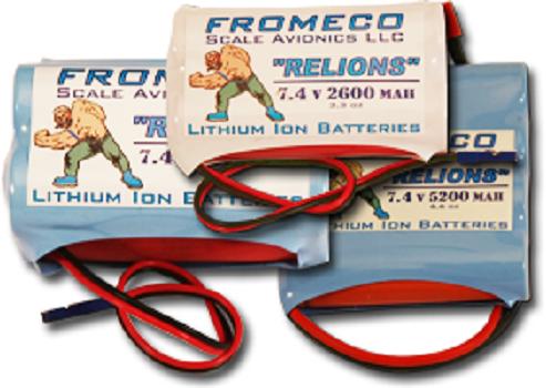 Image 1 of Relion 7800mAh 7.4 volt Ion