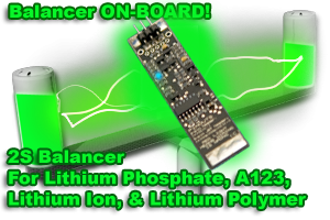 Image 0 of 2S Balancer for Lithium Phosphate, A123, Lithium Ion