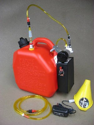 Image 0 of 2.0 gal Gas Electric Pump 9.6v/2700ma NiMH battery & 110 wall Charger