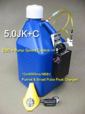 Image 0 of 5gal. Electric Pump - Kerosene 5.0HKF+9.6v/4000mah NIMH battery