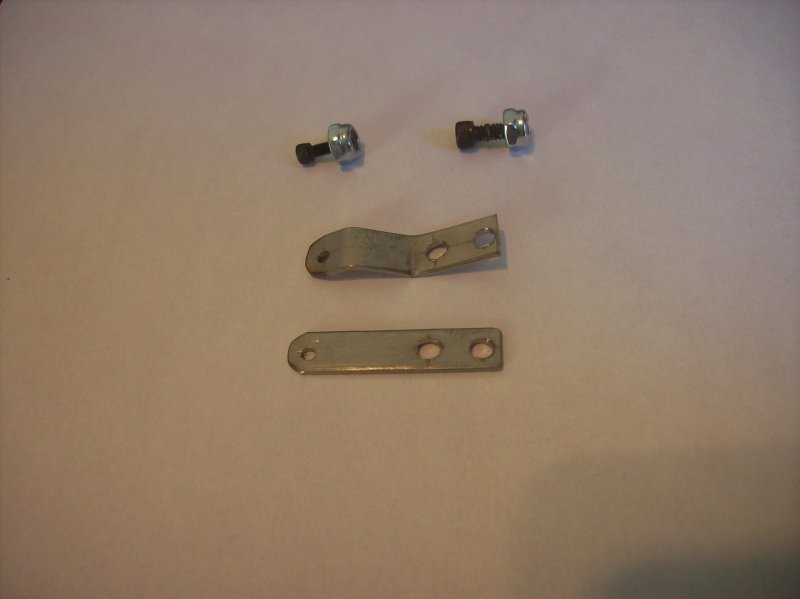 Image 0 of Custom made stainless steel throttle or choke arms