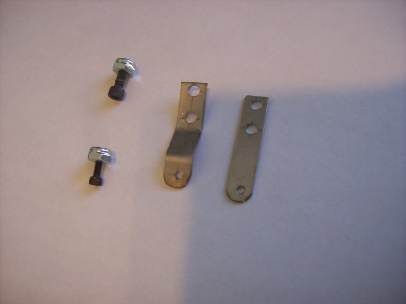 Image 1 of Custom made stainless steel throttle or choke arms