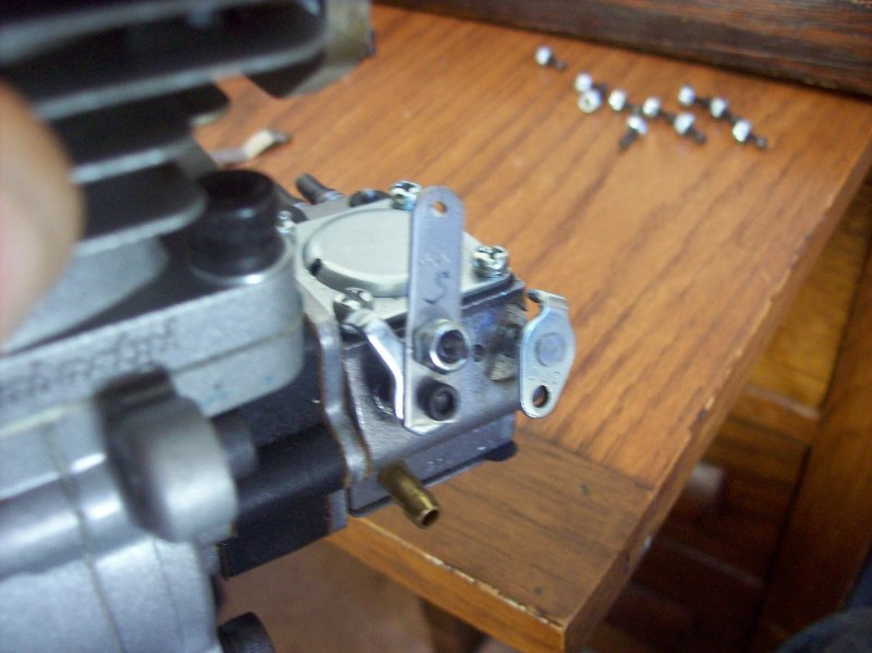 Image 2 of Custom made stainless steel throttle or choke arms