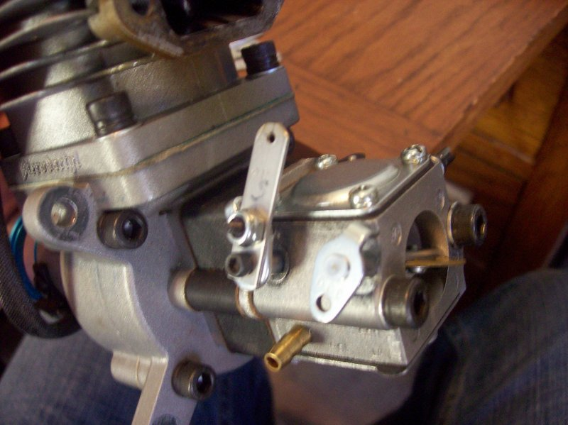 Image 3 of Custom made stainless steel throttle or choke arms