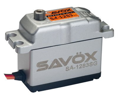Image 0 of Savox 1283SG CORELESS DIGITAL SERVO .13/416 METAL CASE