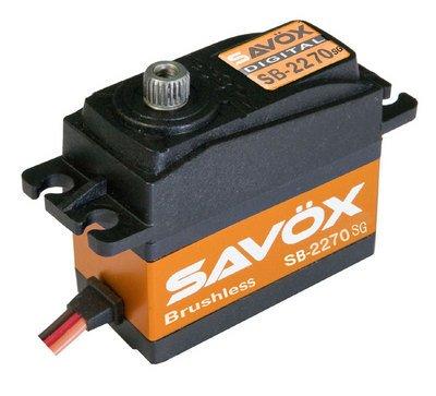 Image 0 of Savox 2270SG Monster Torque Brushless Steel Gear Digital Servo