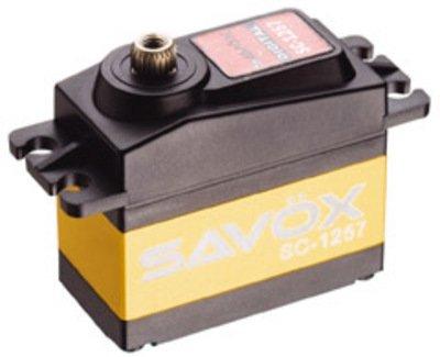 Image 0 of Savox 1257TG STD SIZE CORELESS DIGITAL SERVO .07/139