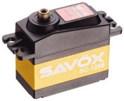 Image 0 of Savox 1258TG STD SIZE CORELESS DIGITAL SERVO .08/166