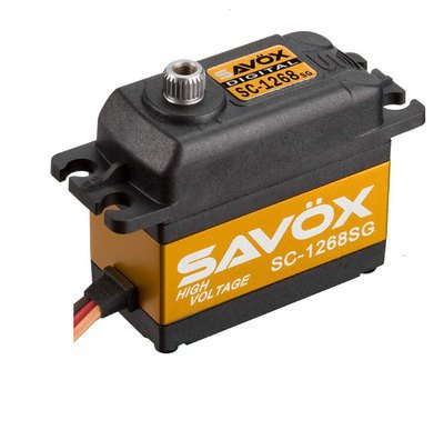 Image 0 of Savox 1268SG HIGH TORQUE DIGITAL SERVO .11/347 @7.4V