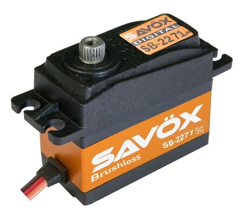 Image 0 of Savox 2271SG Monster Torque Brushless Steel Gear Digital Servo