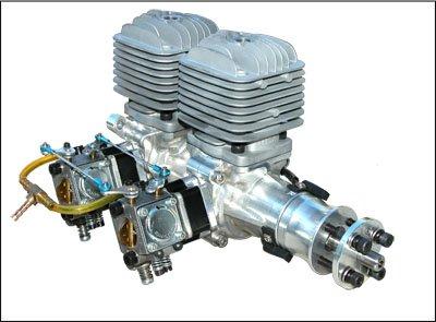 Image 10 of DLA64i2 inline twin cylinder Gasoline aircraft engine