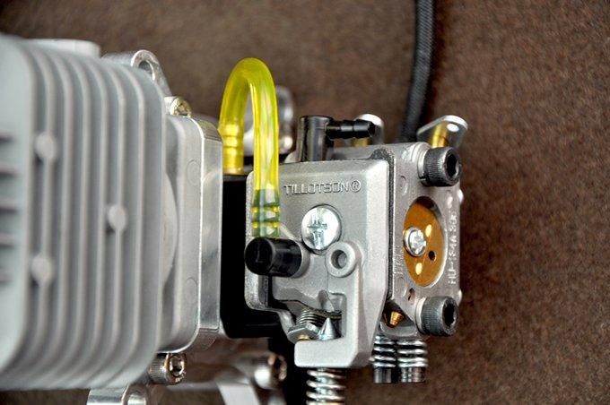 Image 3 of DLA32 32cc gasoline airfraft engine 3.8h.p.