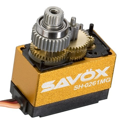 Image 0 of Savox 0261MG MICRO DIGITAL MG SERVO .1/30