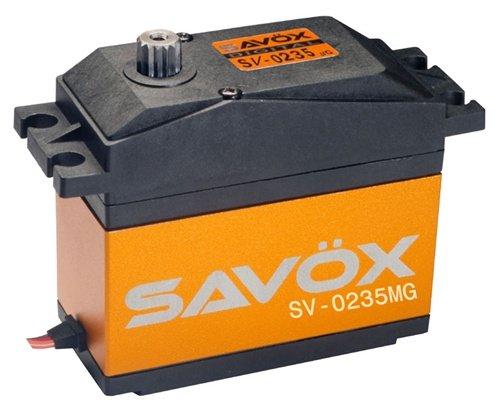 Image 0 of Savox 0235mg HIGH VOLTAGE 5TH SCALE SERVO 0.15/486 @7.4V