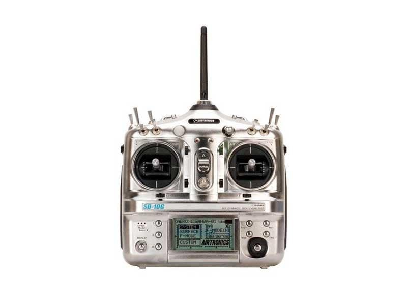 Image 0 of SD-10G 10-CH 2.4G TX W/10-CH R X (NO SX) SD10G