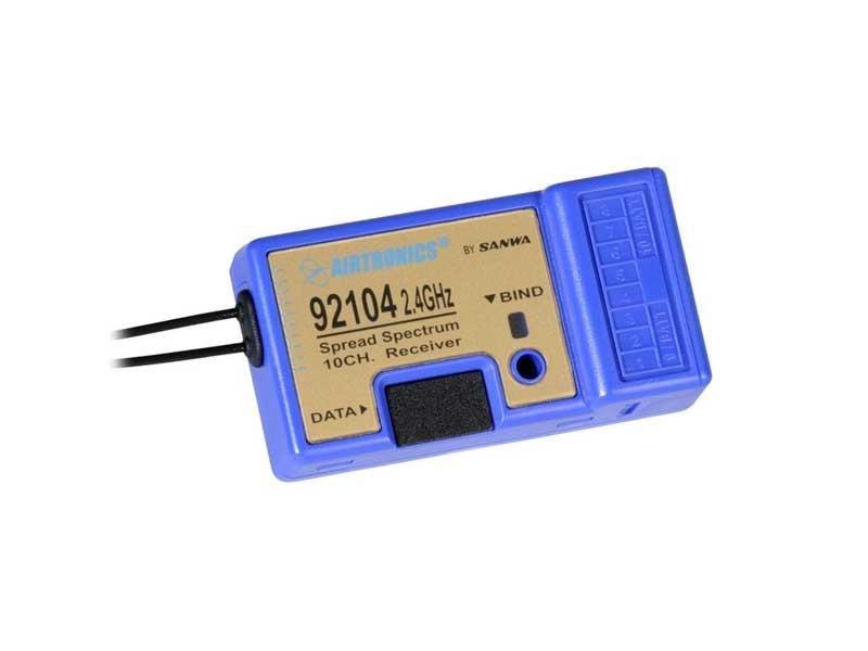 Image 1 of SD-10G 10-CH 2.4G TX W/10-CH R X (NO SX) SD10G